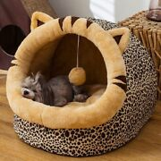Lovely Pet Cat Bed House Kennel Nest Litter Dog Bed Sofa Winter Warm Pet House