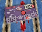 Iomega Gig-a-pack - Qty Of 10 Zip Disks - Mac Format - New And Never Opened