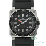 Used Authentic Bell And Ross Wrist Watch Automatic Menand039s 42mm Stainless Steel