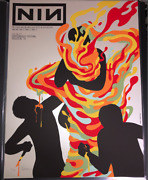 Jermaine Rogers Nine Inch Nails Limited Collectible Art Print Poster Signed