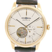 Zeppelin 7362-1 Watches Stainless Steel/leather Mechanical Automatic Small...
