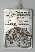 Qql Life Takes Us To Unexpected Places Love Brings Home Tree Of Life Ornament