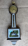 Vintage 1930andrsquos New Haven Clock Co. Banjo Clock Not Working