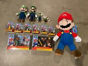 Assortment Of Super Mario Brothers Toys Plush Doll Stuffed Animal Figures Toy