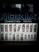 Vintage Nokia Cellphone Display Advertising Cellular Store Sign