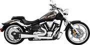 Freedom Exhaust 2 Into 1 Black M109r Ms00012