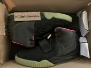 Nike Air Yeezy 2 Solar Red Size 9.5 100 Authentic 508214-006