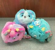 Rare Pikmi Pop Flips 4 Scented Plush Trumble Romble And Gaffy W/tags - U Choose