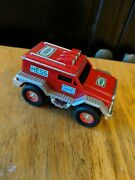 Hess 2005 Emergency Fire Truck 4 Long Rescue Vehicle, Push And Go, Working Lights
