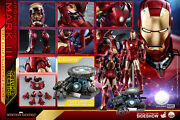Hot Toys 1/4 Quarter Scale Iron Man Mark 3 Iii Deluxe Version Qs012