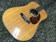 Asturias D Custom Dreadnought Natural Acoustic Guitar Shipped From Japan