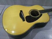 Yamaha Ll16 Are Natural Acoustic Guitar With Case Shipped From Japan