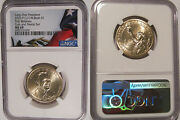 2020 P George H.w. Bush Presidential Dollar Ngc Ms 69 First Releases