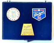 Brooklyn Dodgers 50th Anniversary Cooperstown Collection Limit Edition Pin Set