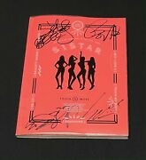 Sistar Autographed Touch N Move 2nd Mini Album Signed Promo Cd