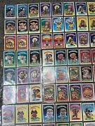 Garbage Pail Kids Os1 Cards Full Set Some Matte Some Glossy Various Conditions