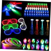 72pcs Led Light Up Toys Party Favors Glow In The Dark Party Supplies, Glow