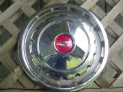 One Vintage 1957 Chevrolet Chevy Belair Impala Nomad Biscayne Hubcap Wheel Cover