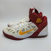 Nike Mo-gotti Air Max Fly By Mo Williams Pe White Red Size 14 429545-170-35 2011