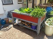 Patio Garden Raised Bed On Wheels Custom Made Los Angeles Delivered Craftsman