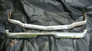 Vintage Oem Ford Mustang Chrome Bumpers
