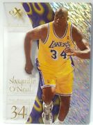 1997-98 Shaquille Oand039neal Skybox E-x2001 7 Lakers Nm-mint Shaq