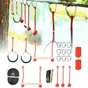 Kid Rope Obstacle Training Climbing Course Warrior Junior Fitness Equipments Kit