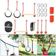 Children Rope Obstacle Training Climbing Course Warrior Junior Fitness Equipment