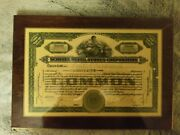 Schulte Retail Stores Corporation Stock Certificate Delaware 1927 25 Shares