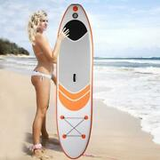 Folding Portable Inflatable Surfboard 305x76x15cm Water Sports Stand Up Paddle