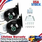 110db Super Snail Air Train Horn For Truck Car Boat Motorcycle 12v Electric Horn