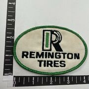 Vtg Remington Tires Advertising Patch Car Auto Related 86v9
