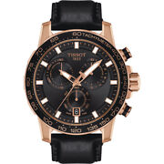 Tissot Supersport Chrono Back-rose Watch T1256173605100 Warranty And Fedex 2 Day
