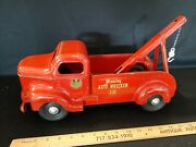 1950and039s Minnitoy Auto Wrecker Truck Toy -very Nice Original