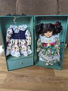 Heritage Mint Lasting Impressions Companion Collection Doll In A Trunk