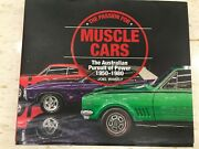 Muscle Cars Book, Passion For Muscle Cars, New Chrysler Ford Holden American 1