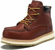 Work Boot For Men 6 Wedge Nonslip Waterproof Safety Construction Casual Shoe