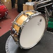 Sakae 14x5.5 Stave Snare Drum.cypress. Suprb Drum In Showroom Condition.