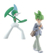 Pokemon Scale World Hoenn Wally And Gallade New Pocket Monster 1/20 Scale Japan