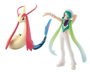 Pokemon Scale World Hoenn Wallace And Milotic Pocket Monster 1/20 Scale Japan New