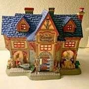Lemax Village Collection Carnegie Stables Retired 2014 Christmas Home Decor
