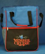 Disney Vacation Club Member Cruise 2014 Dvc Beach Soft Side Cooler Tote Bag New