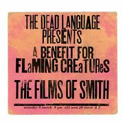 Benefit For Flaming Creatures First Public Screening / 1963
