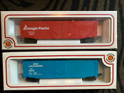 New Vintage Bachmann Erie Lackawanna El 68279 And Triangle Pacific Ho Scale Train