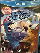 Phineas And Ferb Quest For Cool Stuff Nintendo Wii U 2013