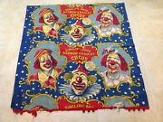 Rare Vintage Ringling Bros And Barnum And Bailey Banner 42 X 44 L@@@@k