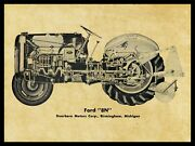 Ford Model 8n Tractor New Metal Sign - 24 X 30 Usa Steel Xl Size - 7 Lbs