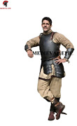 Medieval Dark Upper Body Breast And Back Plate Battle Armour Larp Reproduction