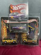 Hot Wheels Datsun 510 Wagon Left Rig Japan Convention/skyline Mail In Lot Of 3