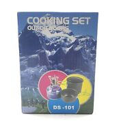 Aluminum Cooking Set Ds-101 Camping Hiking Backpacking Traveling Out Of Doors